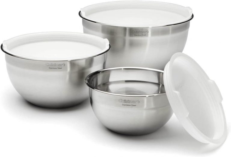 Cuisinart Stainless Steel Mixing Bowl Set
